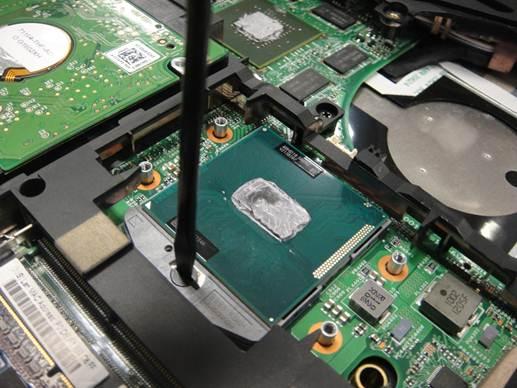 k49系列笔记本内存硬盘cpu拆卸与升级方法