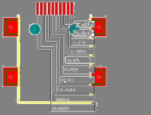 9pin usb接口电路图