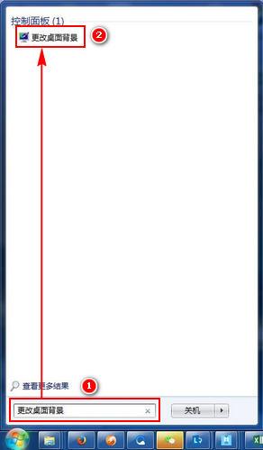 (1)若您希望電腦的桌面背景固定為某一張圖片持續不