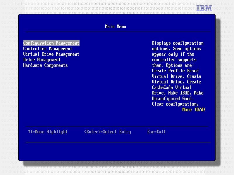 如何配置联想System x服务器SAS RAID阵列