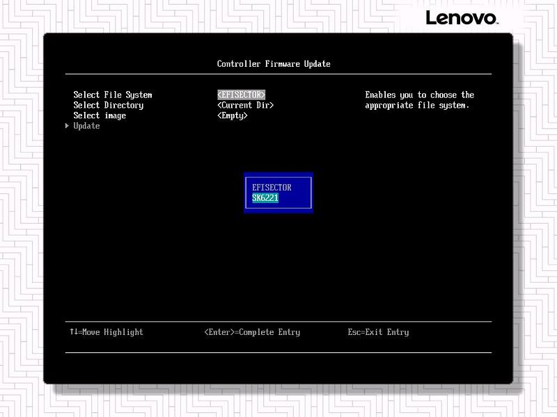 联想服务器在UEFI HII阵列配置教程