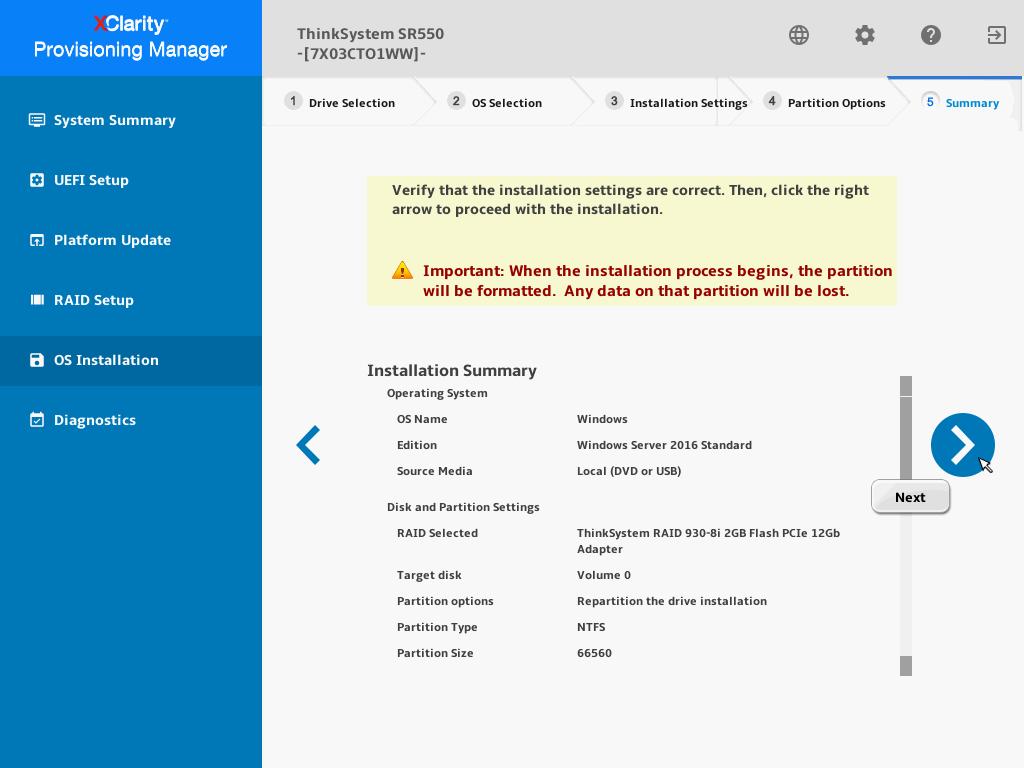 联想(Lenovo)ThinkSystem服务器如何通过自带的LXPM安装Server 2016系统
