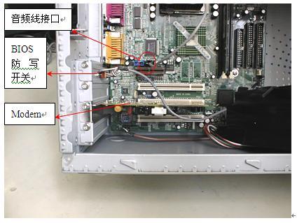电脑主机拆机图解; 电脑电源安装图解;