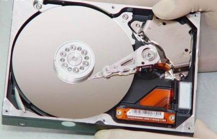 联想电脑硬盘内部结构图